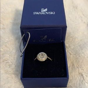 Beautiful Swarovski Angelic Crystal Ring